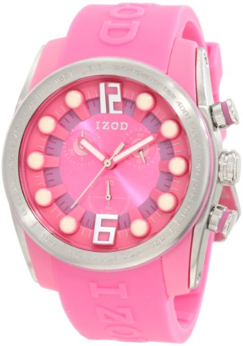 IZOD Men's IZS2/7 PINK Sport Quartz Chronograph Watch