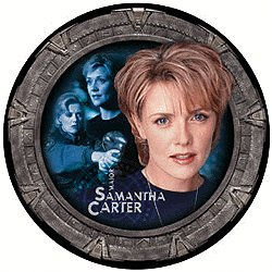 """Stargate: SG-1 Limited Edition UK Exclusive Collector Plate Series 1 - Samantha """"Sam"""" Carter"""