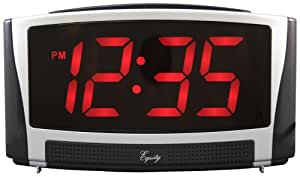 Equity by La Crosse 30037 Jumbo 1.8-Inch LED Alarm Clock