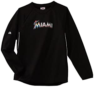 MLB Youth Miami Marlins Therma Base Tech Fleece by Majestic