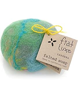 verbena felted soap 1 bar by fiat luxe bath soaps beauty. Black Bedroom Furniture Sets. Home Design Ideas