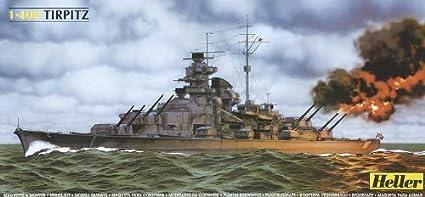 Heller - 81079 - Construction Et Maquettes - Tirpitz - Echelle 1/400ème
