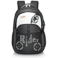 skybags raider 01 black backpack