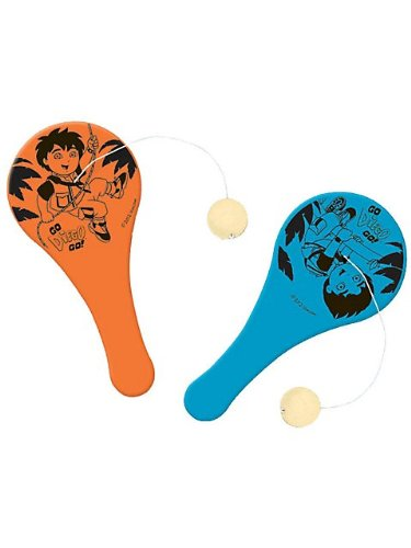 Go Diego Go! 'Biggest Rescue' Mini Paddle Balls (12ct)