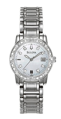 Bulova Women's 96R105 Diamond Accented Calendar Watch
