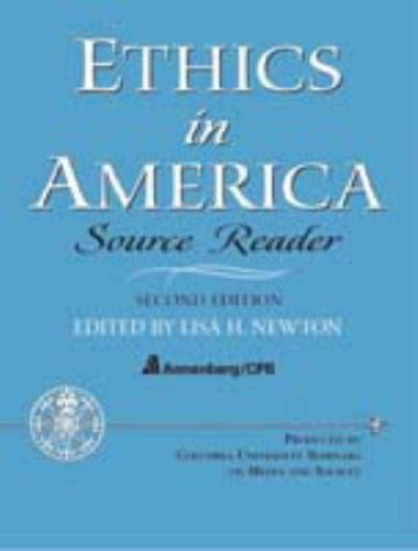 Ethics in America - Source Reader (2nd Edition)