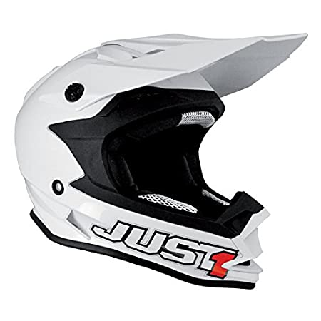 Just 1 casque casque solid 606321018100006 j32, blanc, taille :  xL
