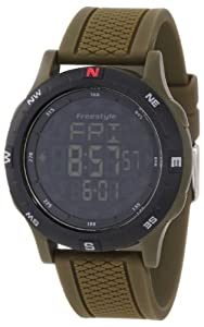 Freestyle Mens 101159 Navigation Digital Compass Night Vision Watch by Freestyle