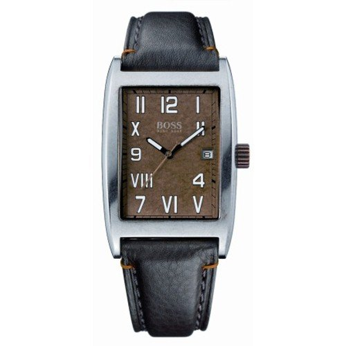Hugo Boss Men's Watch 1512136 Bronze Metallic Dial with Luminous, Clear to Read Numbers / Roman Numerals + Date Display