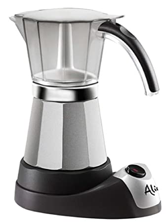 Delonghi EMK6 Alicia Electric Moka Espresso Coffee Maker at amazon