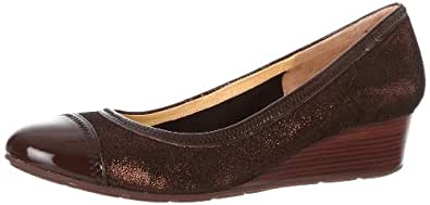 Cole Haan Women's Milly Wedge,Copper/Chestnut,6 B US