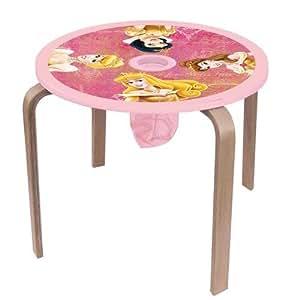 Petite table enfant ronde disney princesses cuisine maison for Petite table ronde pour cuisine