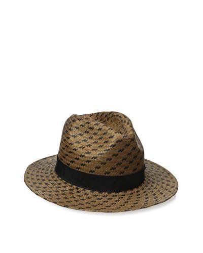 Giovannio Women's Hat, Brown/Black