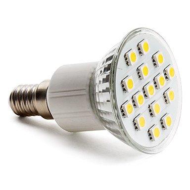 E14 5050 Smd 15-Led Warm White 150-200Lm Light Bulb (230V, 2-2.5W)