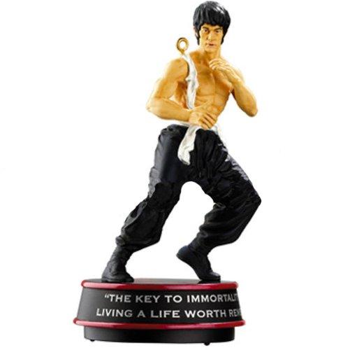 Carlton Cards Heirloom Martial Arts Master Bruce Lee Christmas Ornament