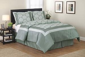 Blanket America Jocelyn 4-Piece Comforter Set, Full