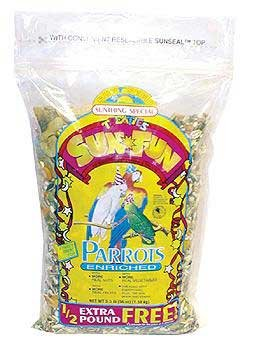 Cheap Sun Seed Sun Fun Enriched Parrot Formula Bird Food (SN44111)