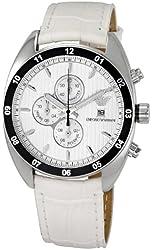 Emporio Armani Men's AR5915 Sportivo Silver Dial Watch