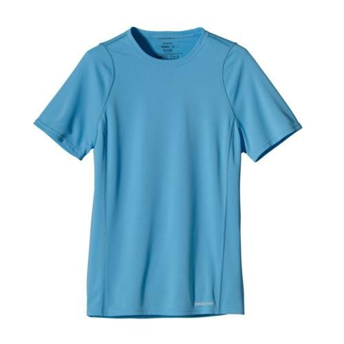 Patagonia, Maglietta a maniche corte Donna Fore Runner, Blu (sky), S
