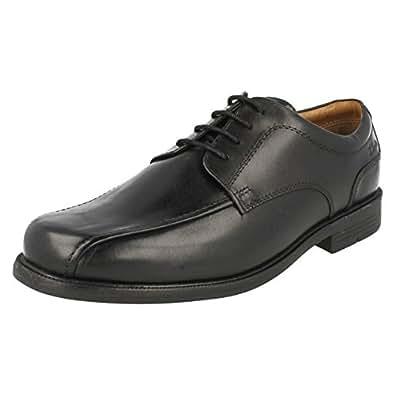 Clarks Beeston Stride Black Leather 6 UK H / 39.5 EU