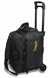 BSI Black 2 Ball Roller Bowling Bag