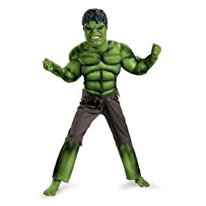 Disguise Avengers Hulk Classic Muscle Costume
