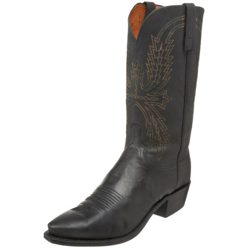 1883 by Lucchese Men's N1560.54 Western Boot,Black,9 EE US