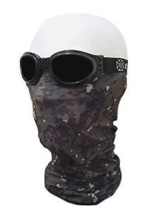 "Tour de Cou Masque Cagoule 12 en 1 ""Woodland Digital Camouflage"" Airsoft - Paintball - Moto - Ski - Snow - Surf - Outdoor"
