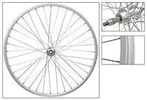 Wheel Master Rear 26 x 1.75/2.125, Silver, Alloy, B/O, 5/6/7 sp, 36H, SS14g Spokes