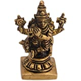 Classic Auspicious Idol Of Lord Krishna Small Decorative Brass Piece By Vyomshop BH05523