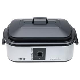 Nesco 18-Quart Roaster Oven, Porcelain