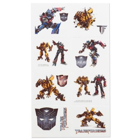 TRANFORMERS III TATTOOS 16 COUNT - 1