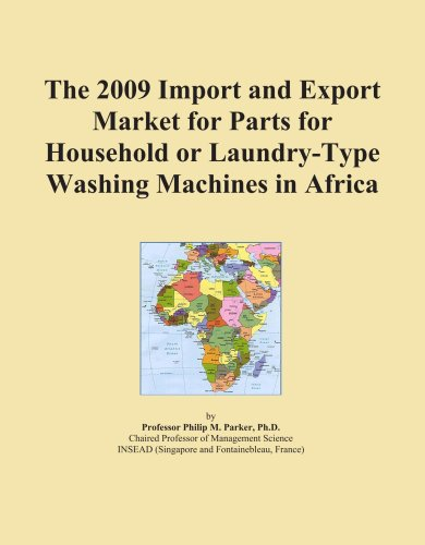 The 2009 Import And Export Market For Parts For Household Or Laundry-Type Washing Machines In Africa front-341894