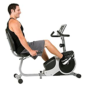Body Champ BRB5007 Magnetic Recumbent Exercise Bike