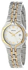 Seiko Womens SXD646 Dress Two-Tone Watch
