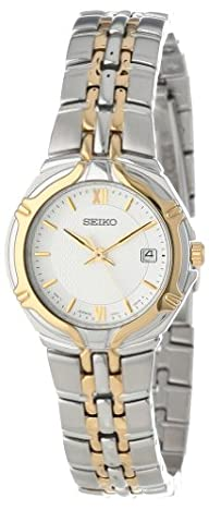 Seiko Women's SXD646 Dress Two-Tone Watch