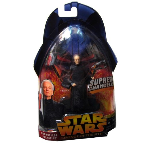 Star Wars Episode III 3 Revenge of the Sith SUPREME CHANCELLOR PALPATINE Action Figure #14