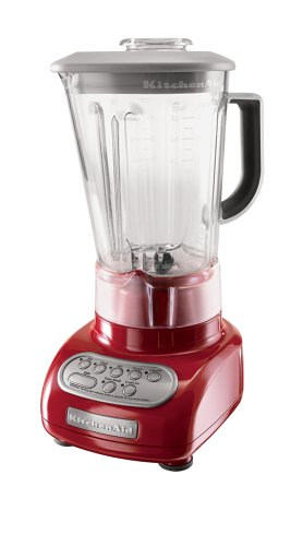 Red KitchenAid Blender