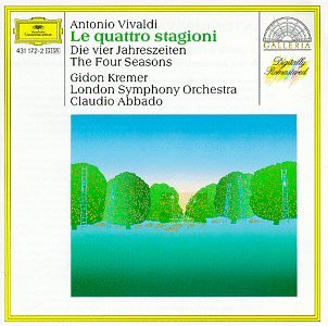 Original album cover of Vivaldi: The Four Seasons by Gideon Kremer