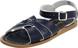 Salt Water Sandals by Hoy Shoe Original Sandal (Toddler/Little Kid/Big Kid/Women\'s),Navy,3 M US Toddler