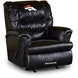 NFL Denver Broncos Big Daddy Leather Recliner by Imperial
