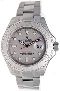 Rolex Yachtmaster Grey Index Dial Oyster Bracelet Mens Watch 16622GYSO