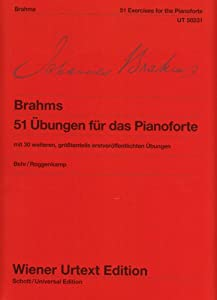 51 Exercises For The Pianoforte Woo 6with 30 Further Exercises Most Of Which Published For The First Timepiano Mit 30 Weiteren Grtenteils Erstverffentlichten Bungen by Wiener Urtext Edition