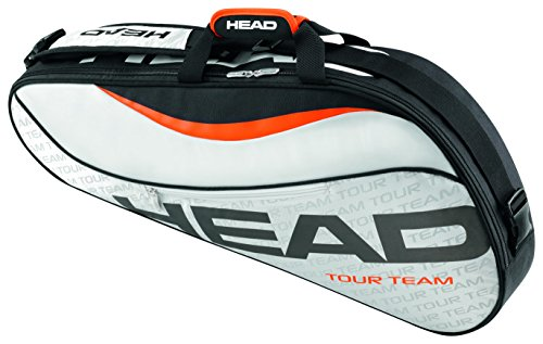 Head Tour Team 3R Pro Tennis Bag, Silver/Black (Tennis Racquet Bag Head compare prices)