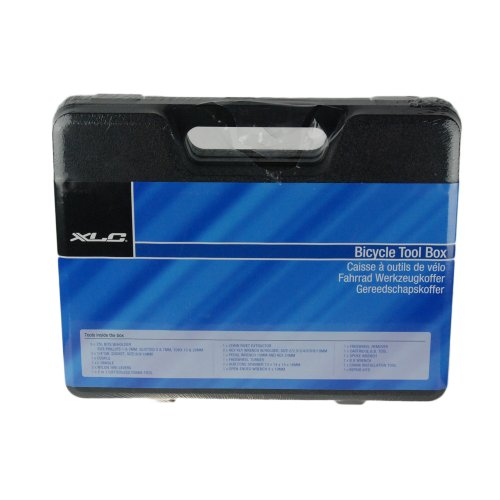 XLC 33 Piece Tool Kit, Black Box