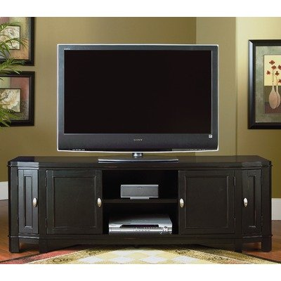 Cheap Timber Hill 71″ TV Stand in Black (AV109-1)