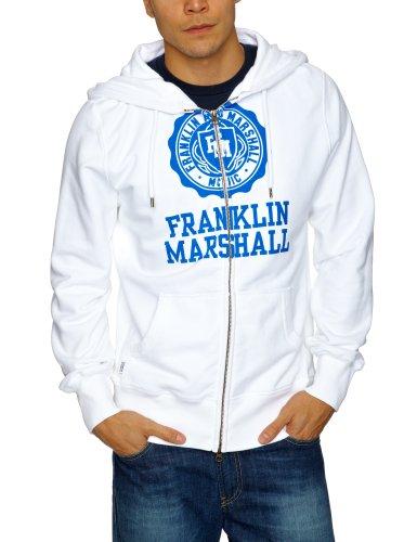 Franklin & Marshall FLMC036S13 Men's Sweatshirt White Small