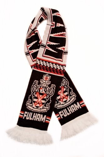 Fulham FC - Authentic Fan Scarf, Ships from USA