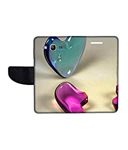 KolorEdge Printed Flip Cover For Samsung Galaxy Grand Prime Multicolor - (50KeMlogo10354SamS530)