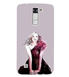 EPICCASE Supermodel Mobile Back Case Cover For LG K7 (Designer Case)